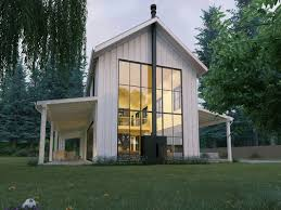 modern contemporary farmhouse farmhouse plans houseplans