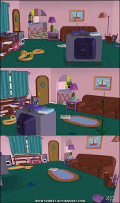 livingroom cartoon 37 best simpsons living room images on pinterest the simpsons
