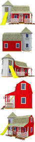 ideas about playhouse plans on pinterest play houses diy red barn