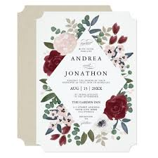 floral wedding invitations outstanding floral wedding invitations 43 for your wedding