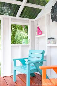Design Ideas For Suntuf Roofing Our Diy Playhouse The Roof A Houseful Of Handmade