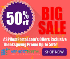 thanksgiving offers cheap asp net hosting exclusive thanksgiving special deals