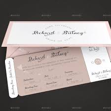 boarding pass invitations wedding boarding pass invitation template by godserv
