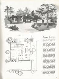 1960s ranch house plans vintage house plans mid century homes 1960s houses homes