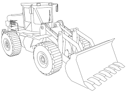 bulldozer coloring pages wecoloringpage