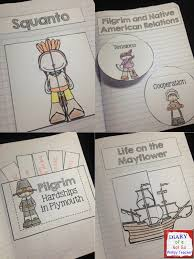 thanksgiving interactive notebook with 21 different foldables and