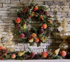 19 sugared fruit and pinecone wreath page 1 qvc