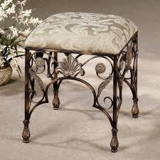 Wrought Iron Vanity Set Bathroom Attractive Vanity Stools Suit Your Vanity Table