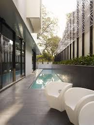Outdoor Bathrooms Australia Verdant Avenue Home In Melbourne Australia By Robert Mills Architects