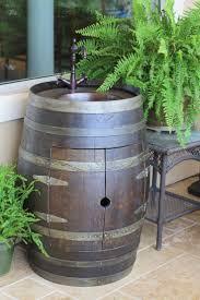 Wine Barrel Vanity 8 Stunning Uses For Old Wine Barrels