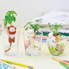 shippon self watering animal tail mini planter plant pot ebay