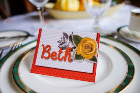 thanksgiving dinner place cards creative memories