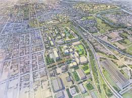 Map Of Downtown Indianapolis Indiana University Health Hires Hok To Masterplan Medical Campus