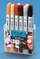 copic sketch marker set 12 color ex 2 colors copic sketch