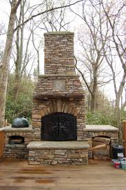 creative precast outdoor fireplace cool home design wonderful with