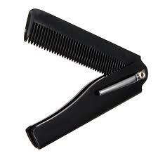 Sisir Pria 1 pcs moustache jenggot sisir rambut kecantikan lipat tangan