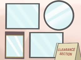 Why Do Bathroom Mirrors Fog Up by How To Buy A Bathroom Mirror With Pictures Wikihow