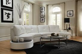 Curved Sectional Sofa With Recliner by Coaster Talia Contemporary Sectional Conversation Sofa With Built