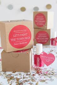 party favors for weddings paint the town bachelorette party favors weddings ideas from