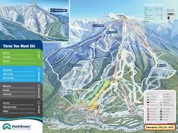 Montana Ski Resorts Map by Panorama Ski Resort
