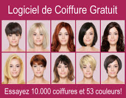quelle coupe de cheveux pour moi coiffures virtuelles logiciel coiffure gratuit simulation de