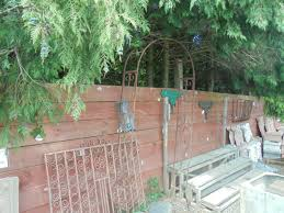 reclaimed plant trellis archway authentic reclamation