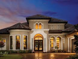 luxury mediterranean homes homes with bay windows provincial house plans