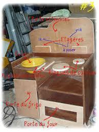 fabriquer une cuisine enfant cuisinière en bois fabrication maison fredemimatal