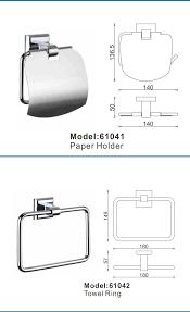 Good Quality Bathroom Fittings Good Quality Chrome Bathroom Accessories Bathroom Fittings 6pcs
