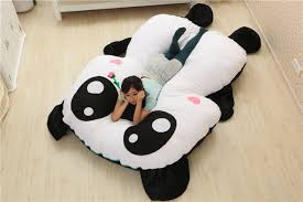 pillow beds for kids bedroom modern girl kids bedroom with black and white panda bed