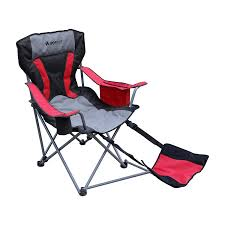 Tofasco Camping Chair by Amazon Com Gigatent Camping Chair With Footrest Red Camping