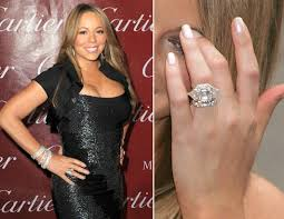 carey wedding ring carey sports some new bling on that finger picture
