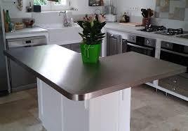 plan de travail cuisine inox sur mesure espace cuisine atelier du sur mesure