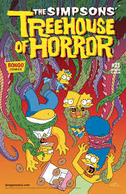 the simpsons halloween of horror jul171467 simpsons treehouse of horror 23 previews world