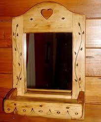 Deco Montagne Chalet Miroir Artisanal En Bois Deco Chalet Montagne Style Scandinave