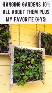 Indoor Garden Wall by Top 25 Best Hanging Gardens Ideas On Pinterest Plants Infinity