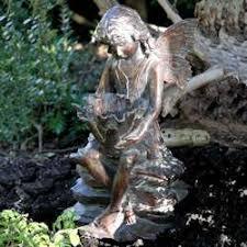 garden ornaments cherub statues