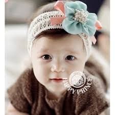 korean headband baby headband korean flower