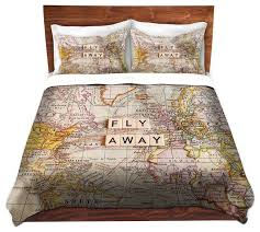 themed duvet cover travel themed comforter set bedding wayfair 1 duvet covers cover
