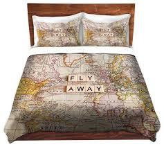 themed duvet cover travel themed comforter set bedding wayfair 1 duvet covers cover