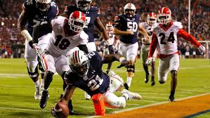 Football Penalty Flags Football Auburn Wallops No 1 Georgia While Miami Routs Nd And