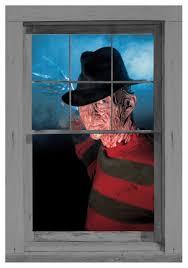 freddy krueger window cling