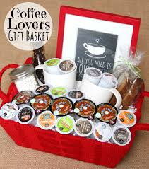 gift basket ideas for raffle grilled shrimp fajita foil packets recipe coffee lover gifts