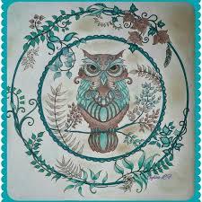 190 Best Johanna Basford Images On Pinterest Art Illustrations Owl Coloring Ideas