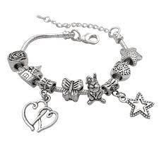 amazon com charm bracelet making kit diy craft european bead