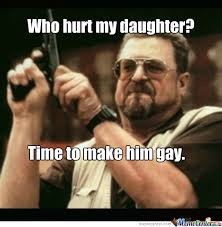 Daughter Meme - no one hurts my daughter by dragonthief meme center