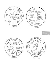 tree free printable ornaments advent colouring pages