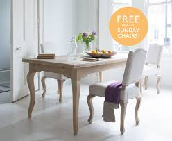 french style oak kitchen table isabelle loaf