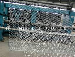 rete metallica per gabbie filo di acciaio a basso tenore di carbonio di pietra verde verde