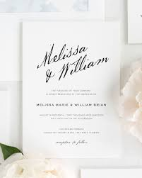 calligraphy invitations modern calligraphy wedding invitations wedding invitations by shine